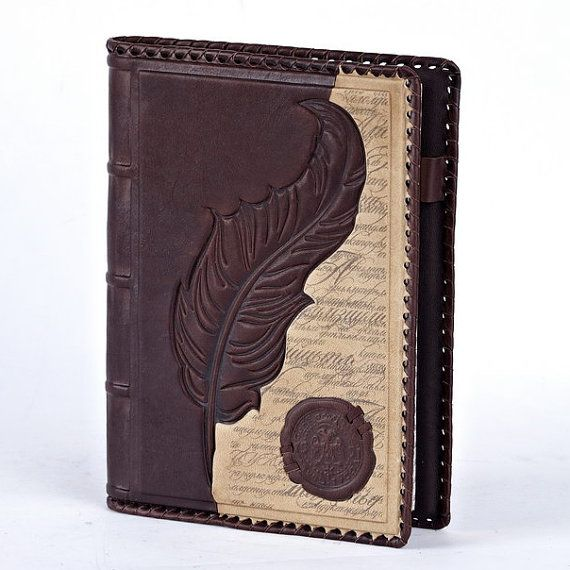 9 X 6 5 Handmade Leather Notebook Book Cover Diary