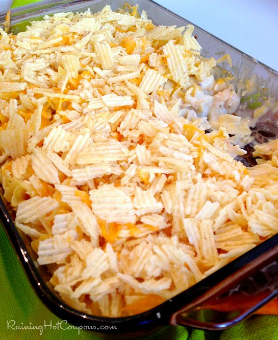 Chicken and Chip Casserole Recipe - Raining Hot Coupons