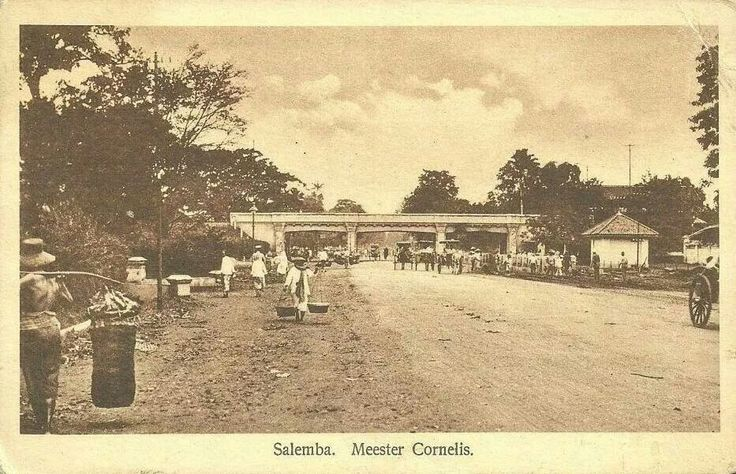 salemba, jembatan meester cornelis/dekat lapangan uriep soemohardjo, jaktim