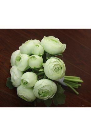 Bouquets de Noiva Lindo 10 flores Mão-amarrado Bouquets de casamento