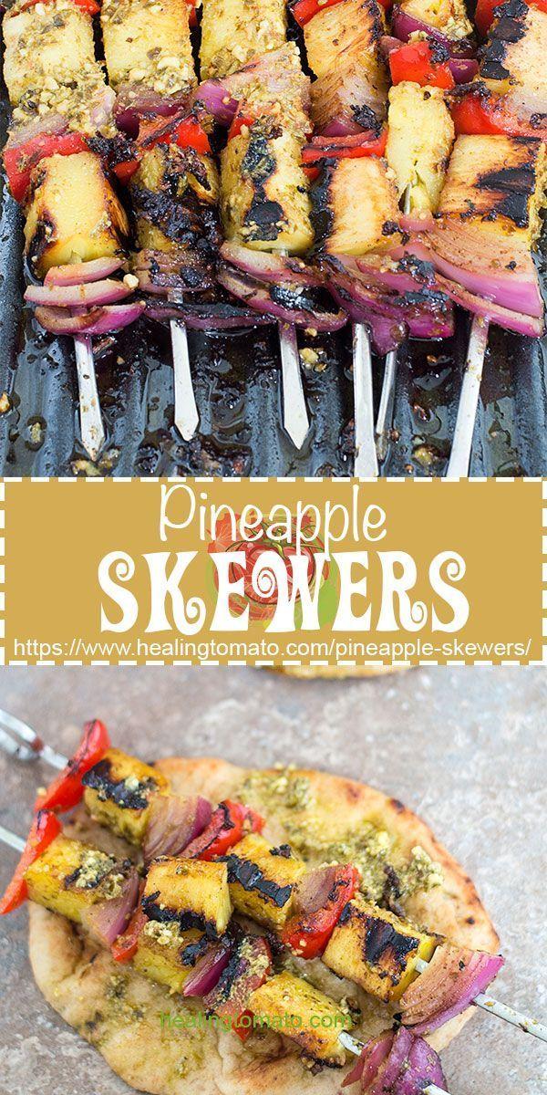 5 Ingredient Pineapple Skewers