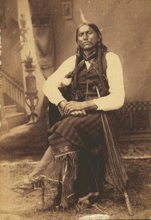 Quanah Parker (1845 or 1852 –1911)