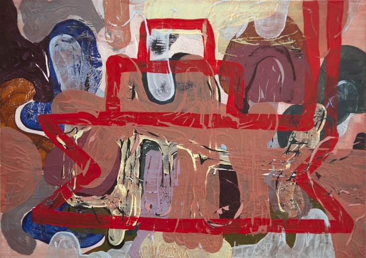 Mind Map #25 (2011) Painting by Norwegian artist Øyvind Suul. #art #painting #suul #2D #Norway