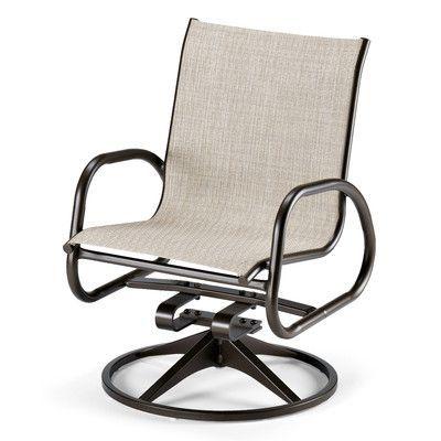 Telescope Casual Gardenella Swivel Rocking Chair (Set of 2) Finish: Textured Desert, Fabric: Preston