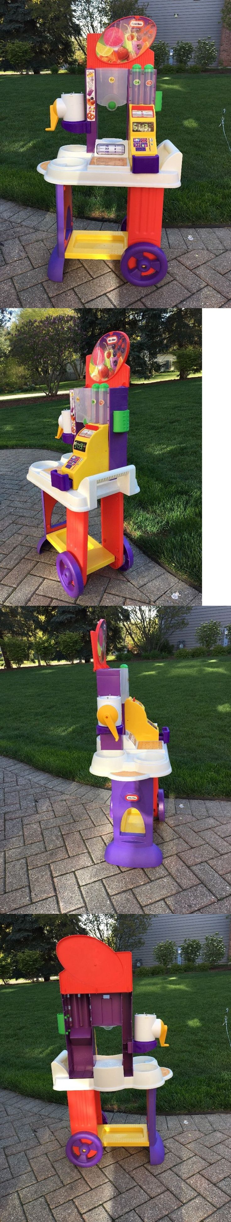 Child Size 2574: Little Tikes Snack N Snow Cones Cart - Very Htf - Rare! -> BUY IT NOW ONLY: $38.95 on eBay!