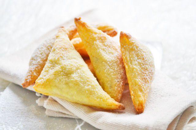 Die Form gibt den Polsterzipfel ihren Namen. Das einfache Rezept ohne Ei stammt aus Omas Küche.