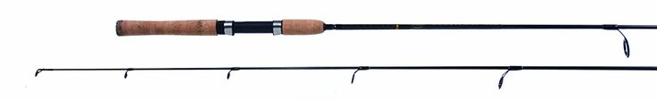 Contour CIS612S60 Fast Taper Graphite 6.6-Feet Spinning Rod with Cork Grips, 6-12-Pound -- Click image to review more details.