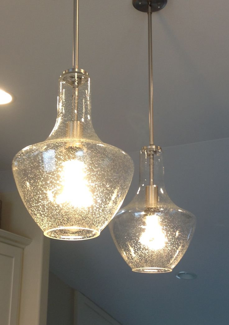 Kichler Seeded Glass Pendant Lights
