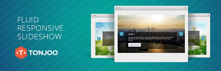 Fluid Responsive Slideshow is an easy to use slideshow. It's responsive, dummyproof and powered with 50+ beautiful skins.