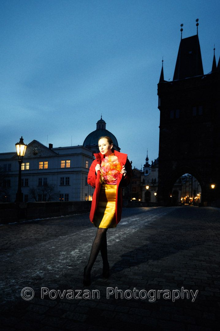 Fashion Prague photo-shoot with Vancouver wedding photographer - Jozef Povazan from Povazan Photography