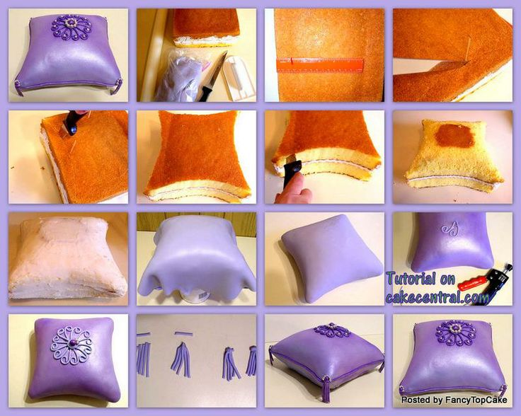 54 Best Images About Pillow Cakes On Pinterest Princess
