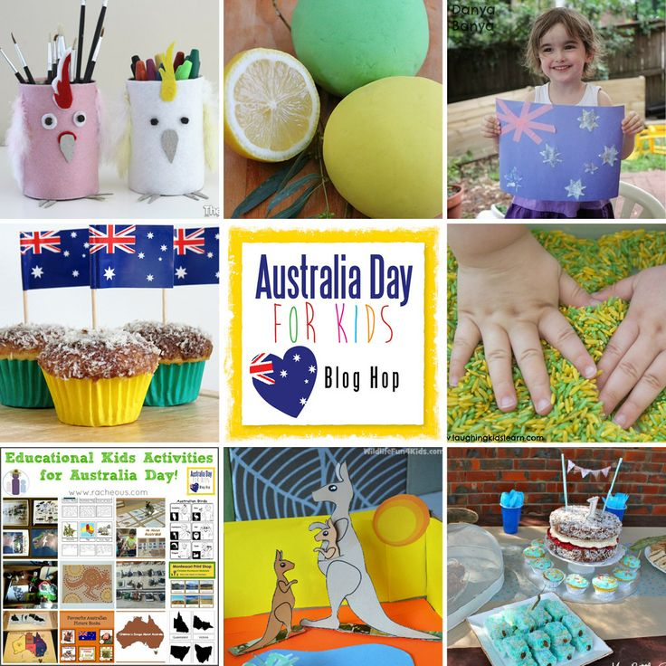 Australia Day Blog hop: activities, crafts and recipes