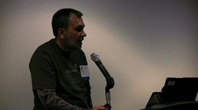 Anwar Jeewa at the 2009 DPA Conference