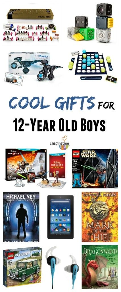 Discover cool gifts for 12 year old tween boys: books, games, and technology!