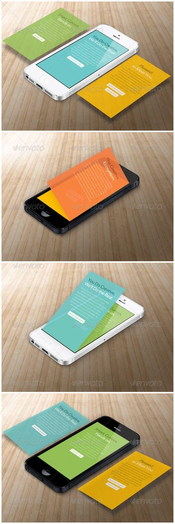 Phone App Mock up - Mobile Displays $4