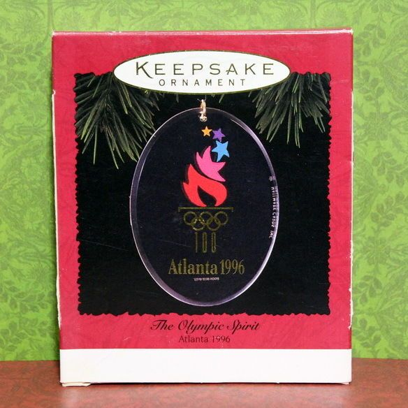 #AUCTION ENDS SOON!!  $2.95 Starting Bid!    Available on Ebay   HERE --->>> http://ebay.to/2nCOM4z    #Hallmark #Olympic Spirit #Keepsake #Christmas 🎄#Ornament #Atlanta #Olympics #Ebay 💗💗💗