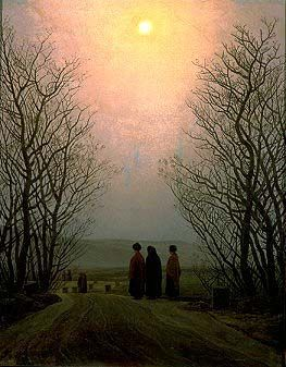 Easter Monday by Caspar David Friedrich