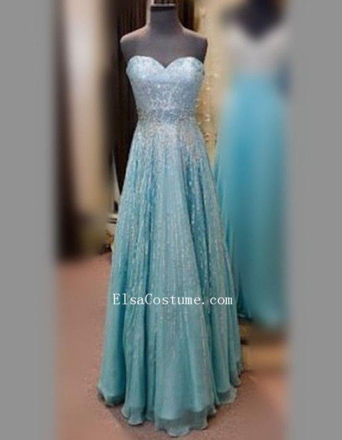 Elsa (Frozen) kostuum