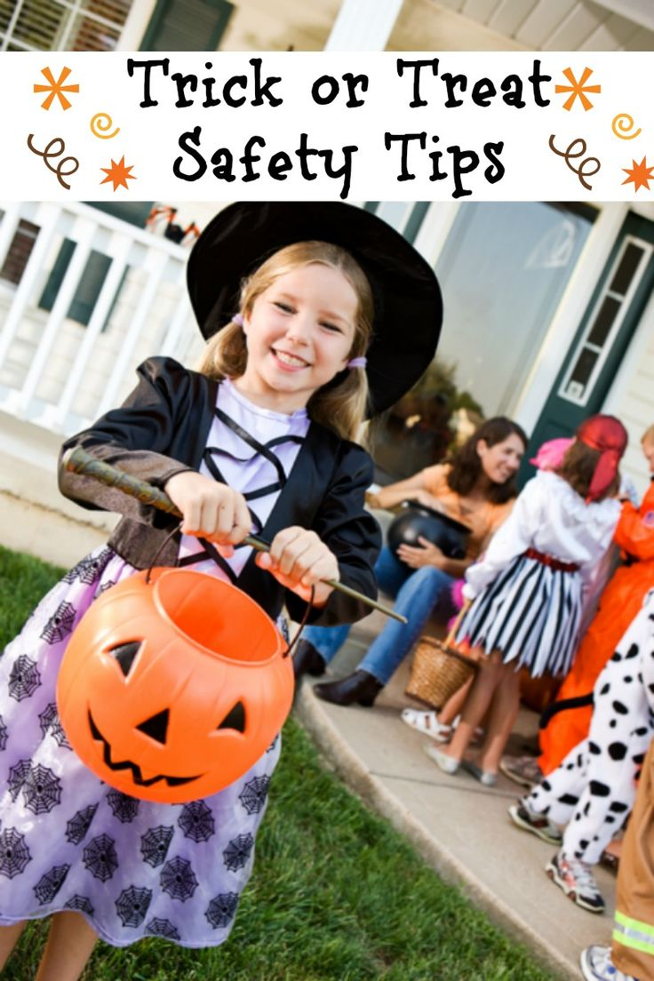 Stay safe this HALLOWEEN! Trick or Treat Safety Tips