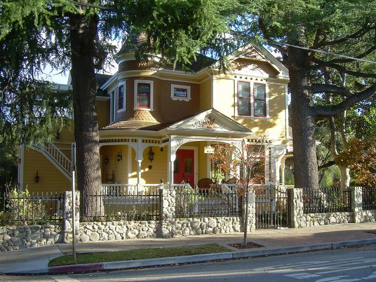 Victorian House    Los Gatos, California.