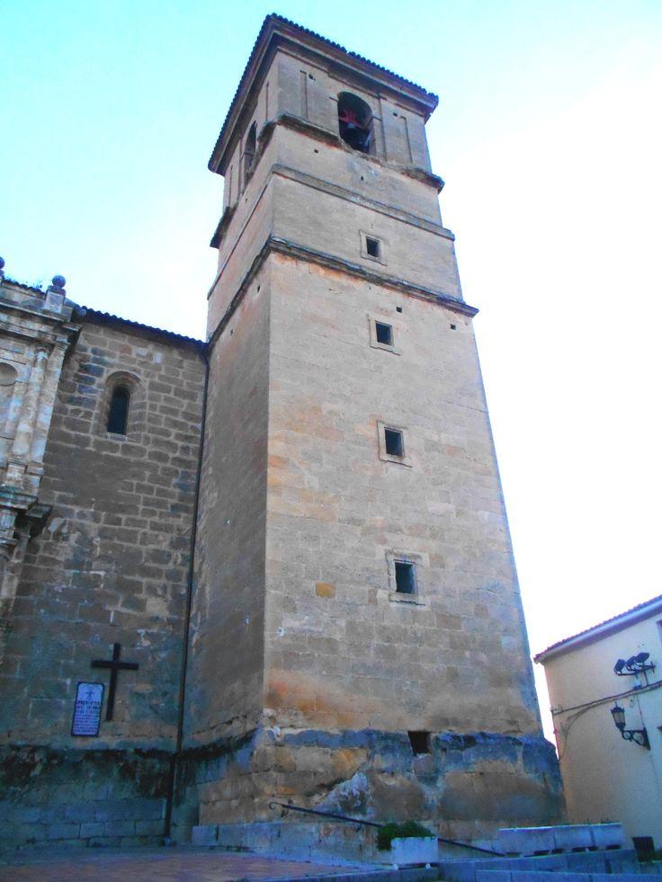 Torre de estilo mudéjar de la Iglesia de Nuestra Señora de la Asunción.