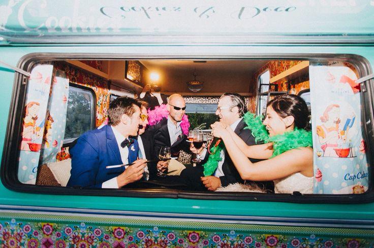 Nuestra caravana, de fiesta en la boda !