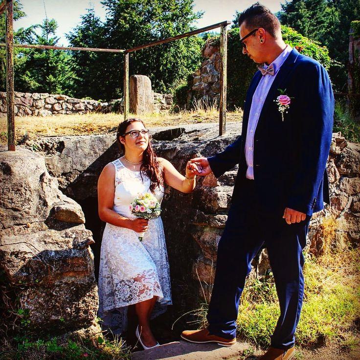 Heute sind wir 2 Jahre verheiratet und ich bin glücklich