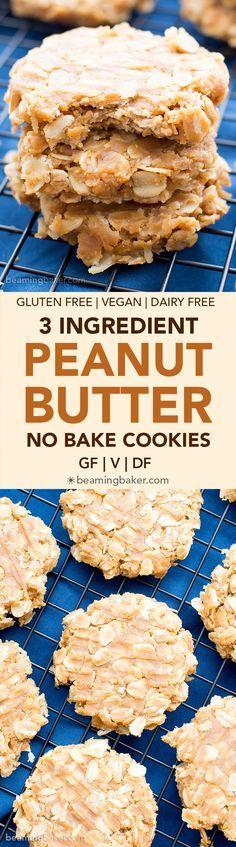 Provati. Tre ingredienti, facilissimi da fare e buoni, ma di colore marroncino decisamente non simile a quello della foto #vegan #biscotti #healthyfood