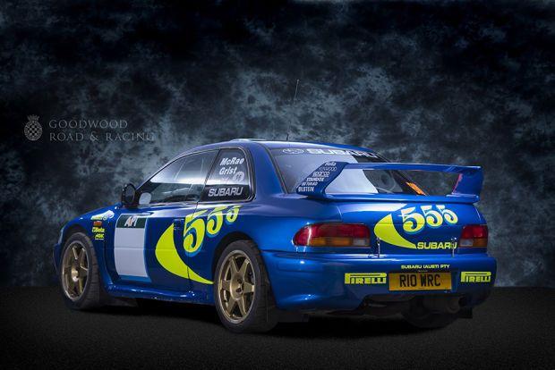 Colin McRae Subaru Impreza