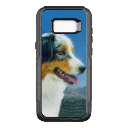 #Australian Shepherd OtterBox Commuter Samsung Galaxy S8 Case - #australian #shepherd #puppy #shepherds #dog #dogs #pet #pets #cute #australianshepherd