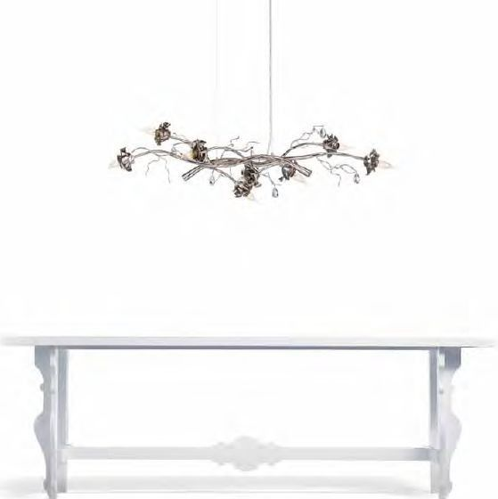 LINEAR BOTANICAL PENDANT WITH A MODERN SCULPTURAL FLAVOUR. Contact us for more information: 03-9822-0001 @customlighting