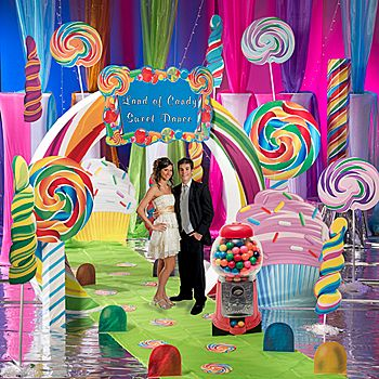 Ultimate set the stage candy party kit large candy party for Candyland bedroom ideas