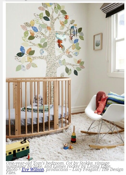 Cot And Chair Soft Furnishings Project Kids Bedroom