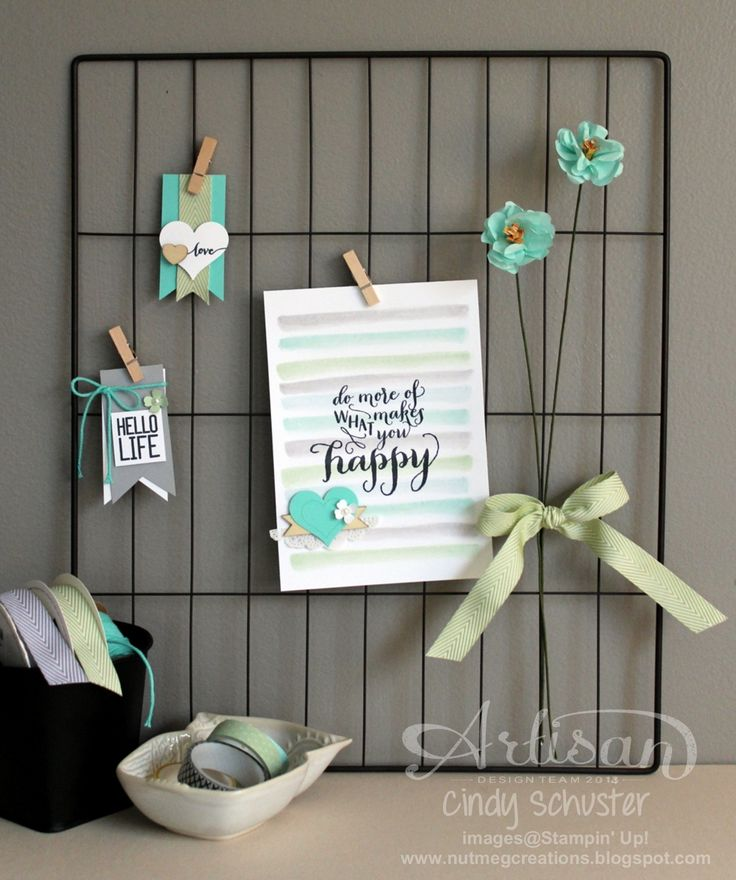This wire frame from the Hello Life Project Kit is a hidden treasure. You can do so much with it! ~ Cindy Schuster