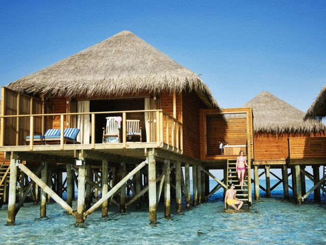 Wasserbungalow Meeru Malediven