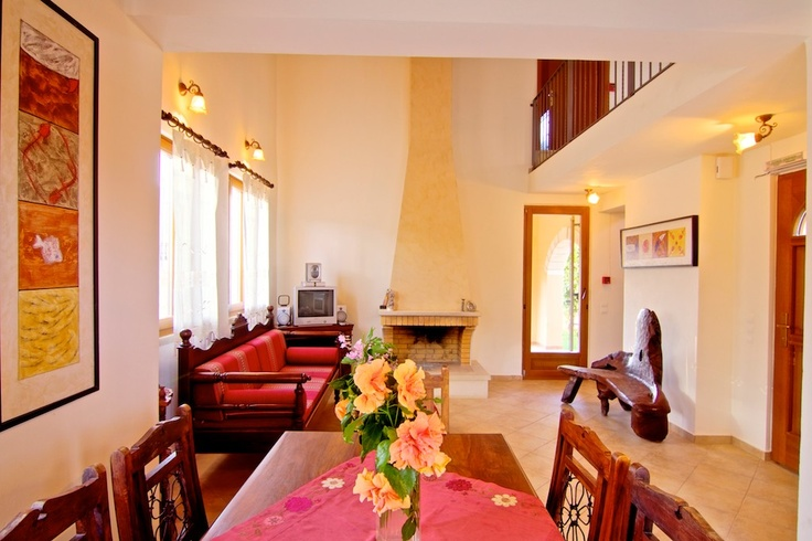 Villa Stratos Crete beautiful Interior Area