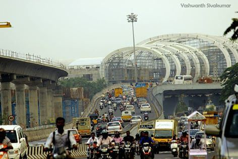 Chennai Metro Airport Station,GST Road
