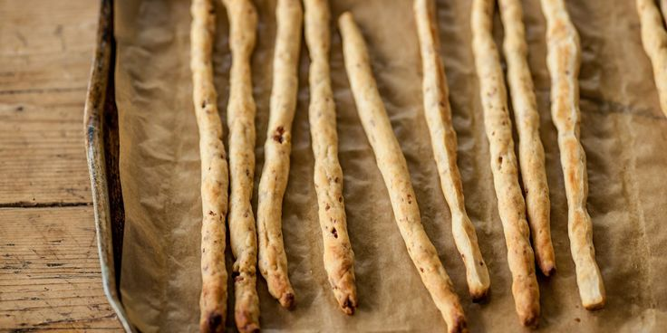 Bacon Breadsticks by Alyn Williams from Great British Chefs