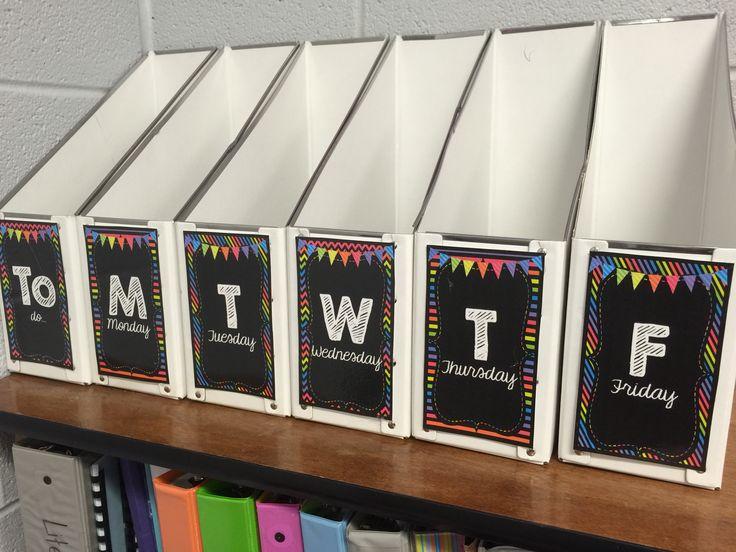 Classroom Decor Bundles : Classroom brights decor bundle book places and storage