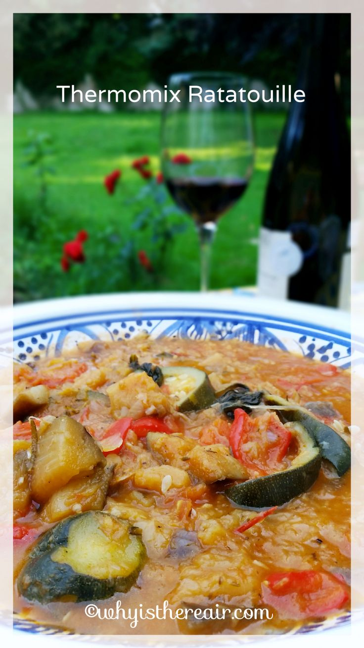 Bon appétit with Why Is There Air and Thermomix Ratatouille!