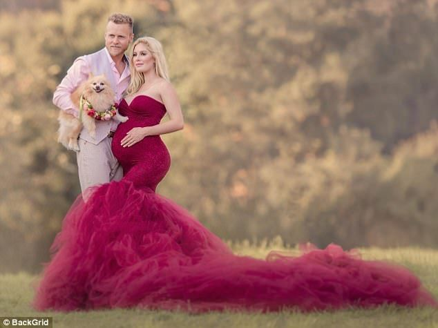 Not long now! Heidi and Spencer Pratt looked positively glowing at the prospect of impendi...