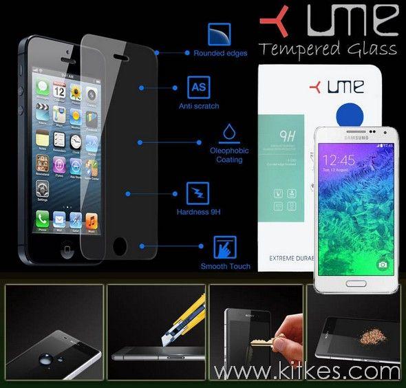Ume Tempered Glass Samsung Galaxy Alpha - Rp 110.000 - kitkes.com