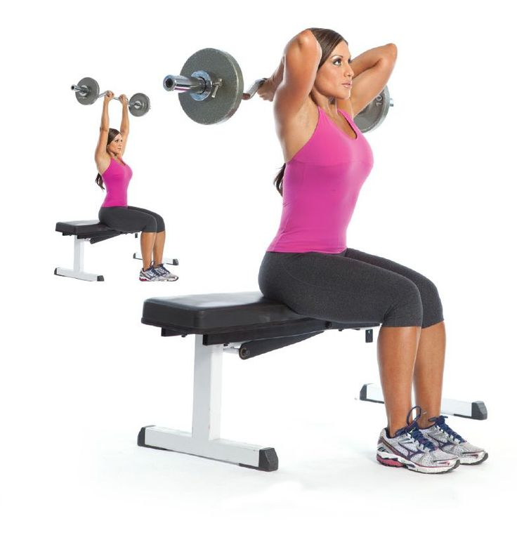 Tricep extensions are a great way for building muscular strength by building muscle in your triceps.