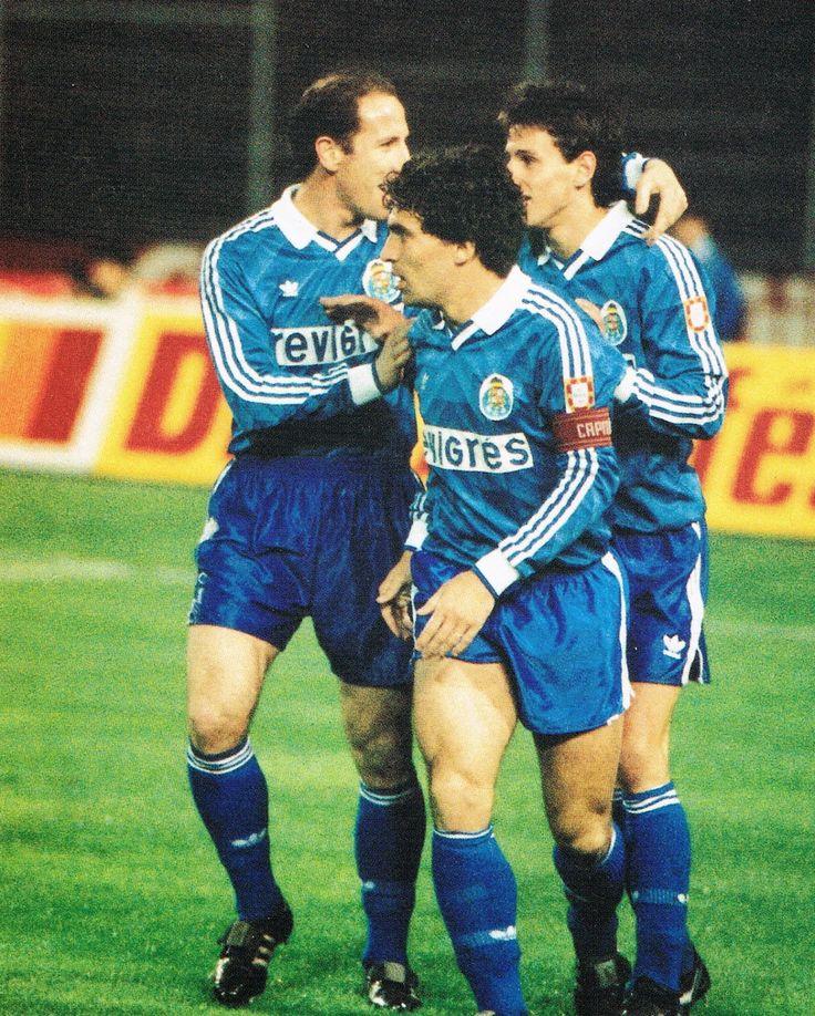 Jaime Magalhães, João Pinto, e Domingos... Três símbolos do F.C.Porto.