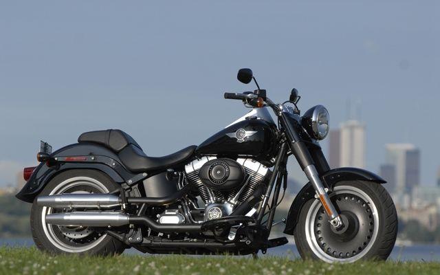 Harley Davidson Fatboy Special: Eye