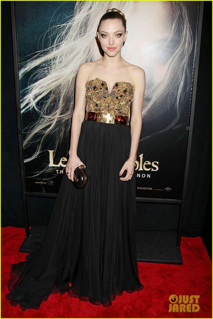 Quer ver Amanda Seyfried toda linda na première de Les Miserables?    Agora, no blog!
