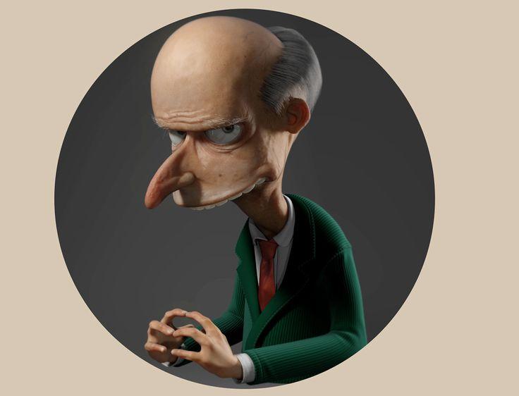 Mr Burns on Behance