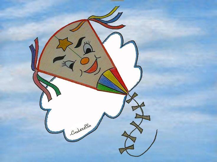 L' AQUILONE FELICE Era una bellissima mattina d'estate, nel cielo azzurro sospinto da un soffio di vento caldo un aquilone volteggiava leggero alternando piroette a splendide acrobazie. Finalmente quella cordicella tanto detestata con la quale veniva sempre frenato il suo volo penzolava libera, non più trattenuta da mani umane....(...) Cinderella