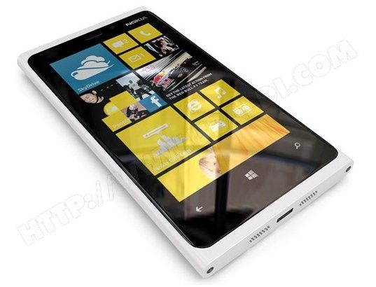 Smartphone NOKIA Lumia 920 blanc-in love!:x