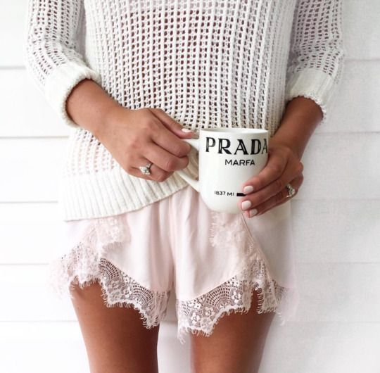 prada marfa - start each day with a big cup of coffee